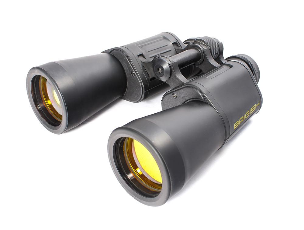 Binoculars Baigish BPC3 12x45, ruby lens coating, rubberized case,  production KOMZ, Russia